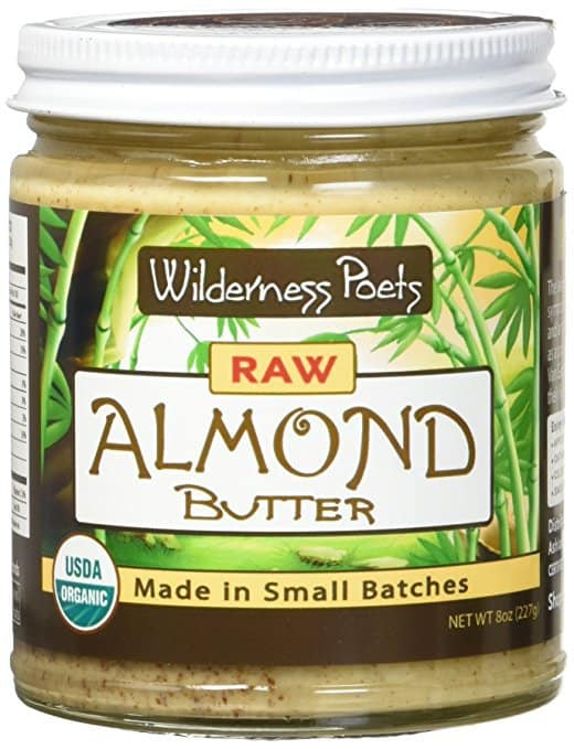 raw almond butter, organic almond butter, kitchen essentials list
