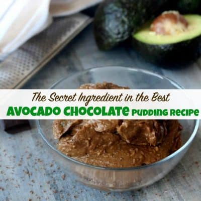 The Secret Ingredient in the Best Avocado Chocolate Pudding Recipe