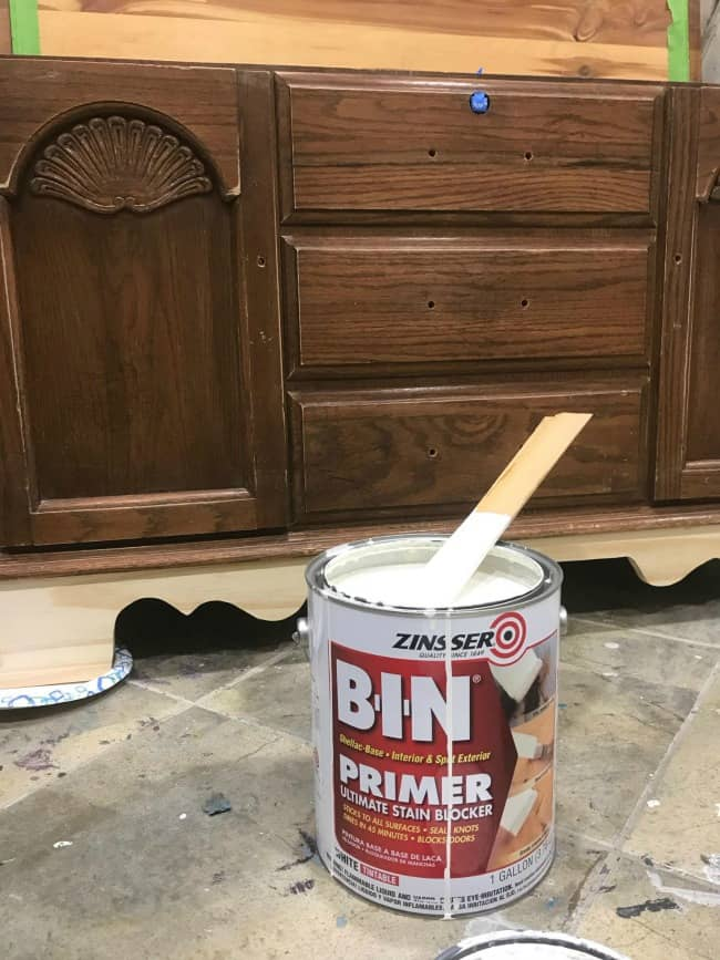 shellac based primer, painted cedar chest, vintage hope chest