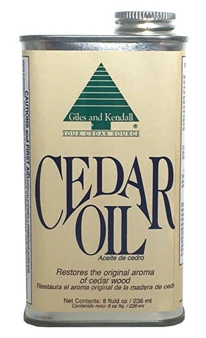 cedar oil, bring back cedar scent to cedar chest