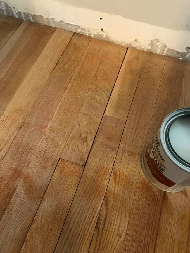 sand closet floor, small closet organization