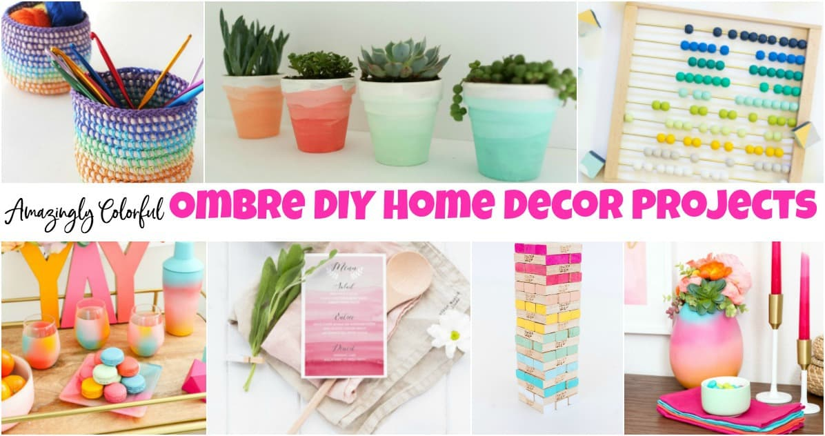 Amazingly Colorful Ombre Diy Home Decor Projects To Home Decorators Catalog Best Ideas of Home Decor and Design [homedecoratorscatalog.us]