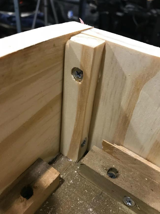 wood joint support, corner wood, repair furniture, woodworking, replace furniture