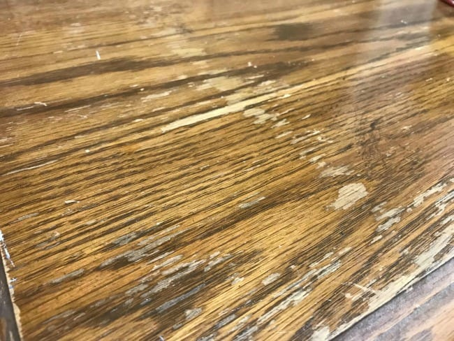 scratched wood veneer, how to refinish a lane hope chest