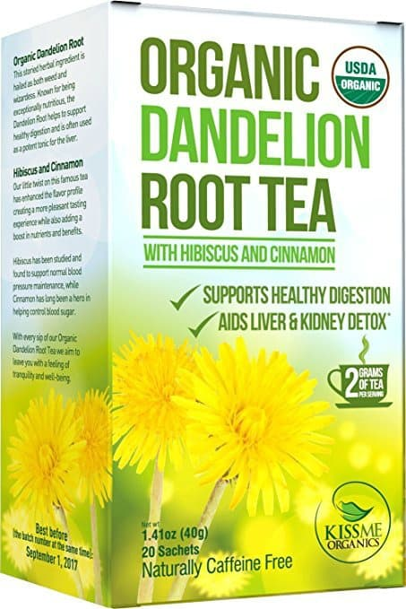 clean eating, dandelion root tea