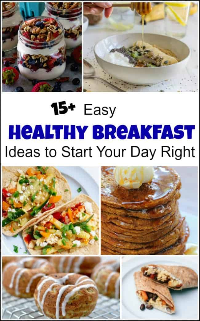 easy healthy breakfasts, healthy breakfast recipes, healthy breakfast options
