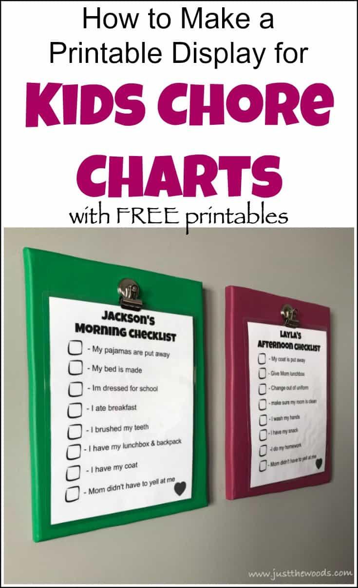 kids chore charts, free printable chore charts, chore charts for kids, childrens chore chart