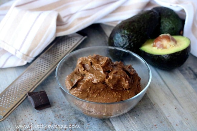 avocado pudding recipe, pudding made with cacao, pudding made with cocoa, avacado pudding
