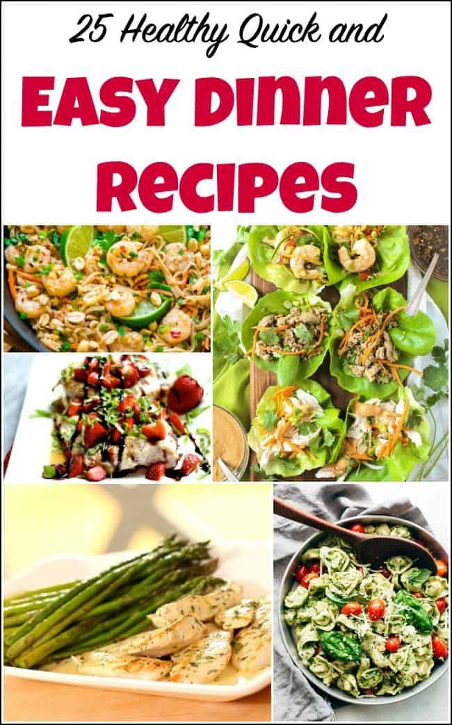 25 healthy quick and easy dinner recipes to make at home healthy quick easy dinner recipes easy recipes healthy dinner ideas recipes for dinner forumfinder Image collections