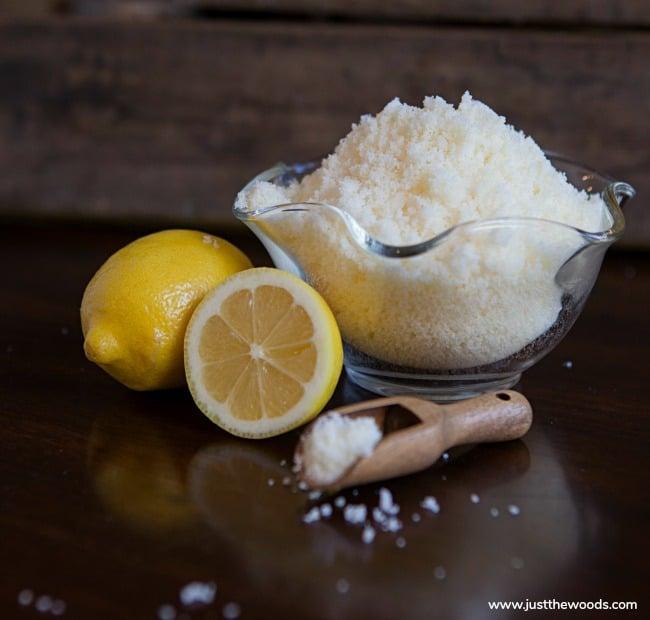 recipe for sugar scrub, homemade sugar scrub recipe, lemongrass sugar scrub