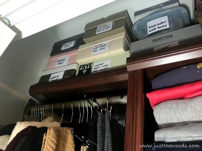 small closet organization, small closet organizer ideas, small closet storage solutions