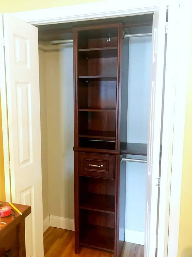 small closet organization, closet shelving system, small closet organizer, closet organizer small space