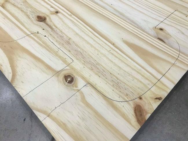 repair wood furniture, repairing wood furniture, how to create a wood template