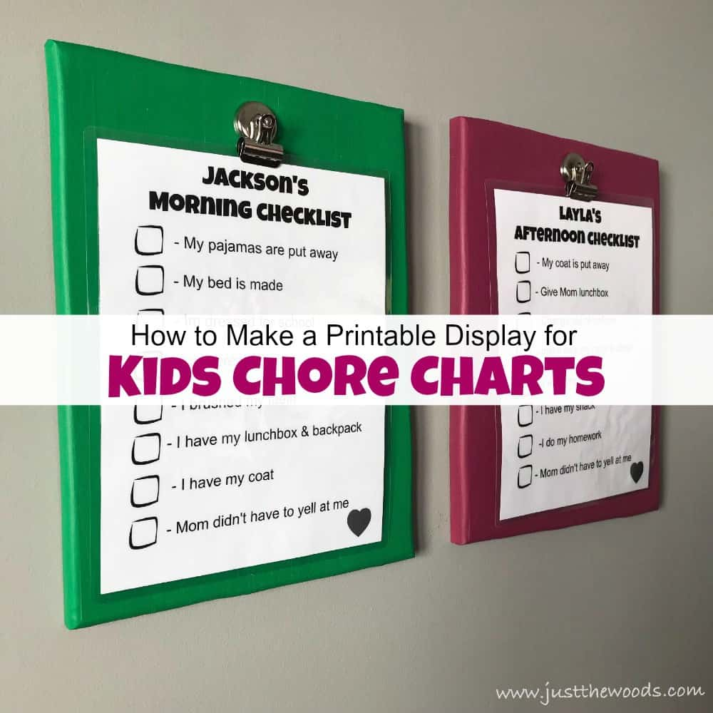photograph about How to Make a Printable called How in the direction of Crank out a Printable Clearly show for Youngsters Chore Charts
