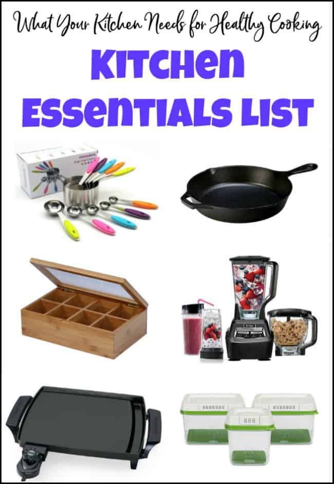 What Your Kitchen Needs for Healthy Cooking - Kitchen Essentials List