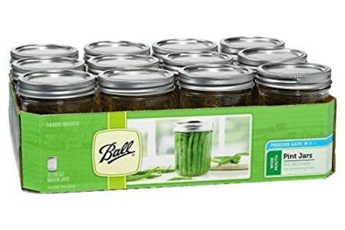 food prep, kitchen essentials list, mason jars, food storage