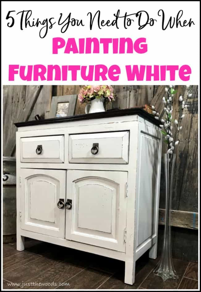 Swell 5 Things You Need To Do When Painting Furniture White Interior Design Ideas Jittwwsoteloinfo