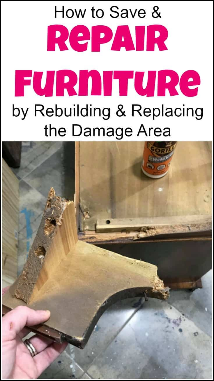 Not all furniture is created equal. Some parts don't last, but you can save and repair furniture by rebuilding the damaged area. Remove the damaged legs, create a wood template and rebuild the furniture legs to save your old furniture. Repairing furniture, furniture fix, how to repair wood furniture, furniture repair, repairing wood furniture, wood furniture repair, replace the base of a cedar chest, cedar chest replacement feet, broken base repair, damaged base, repair cedar chest base, replace cedar chest base.