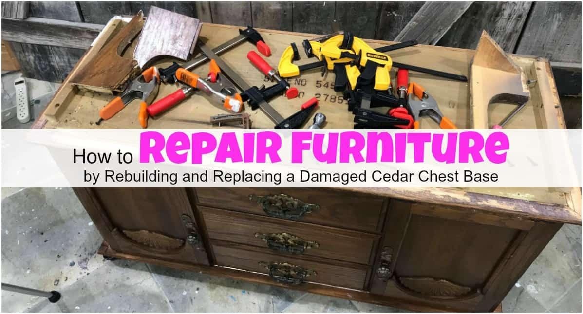 woodworking projects, repair broken furniture