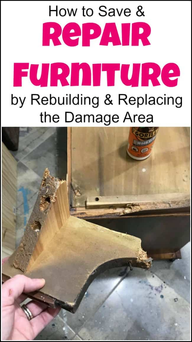 repair furniture, furniture repair, how to repair furniture, diy furniture repair