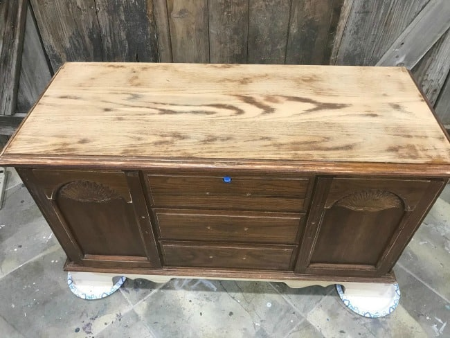 sanded lane cedar chest, vintage wood chest, vintage hope chest