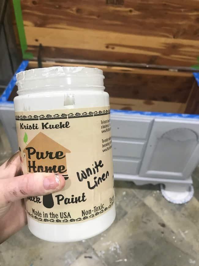 chalk paint, white chalk paint, white chalk painted furniture