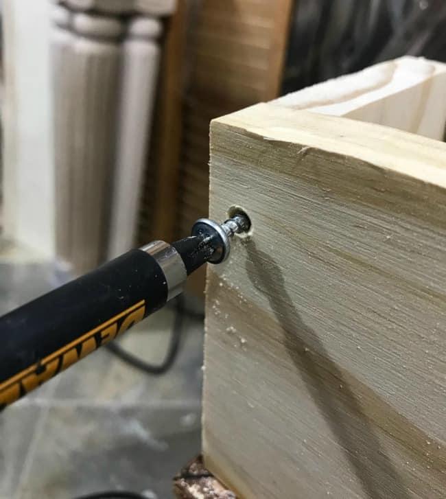 wood screws, build furniture, repair furniture, fix furniture, replace damaged wood