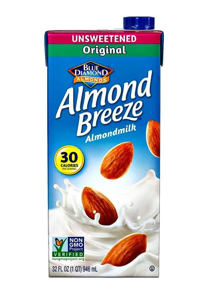 almond breeze almond milk, almond milk smoothie