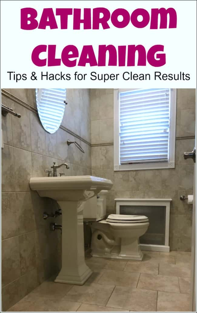 bathroom cleaning, bathroom cleaning hacks, bathroom cleaning tips, clean bathroom