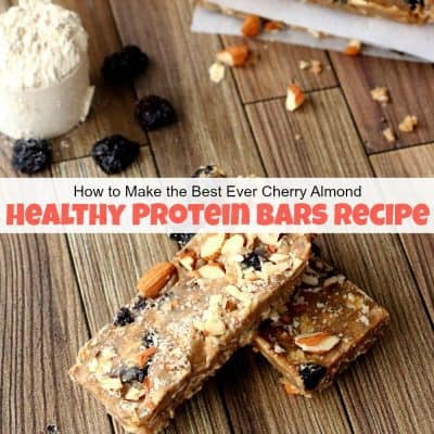 How to Make the Best Ever Healthy Protein Bars Recipe