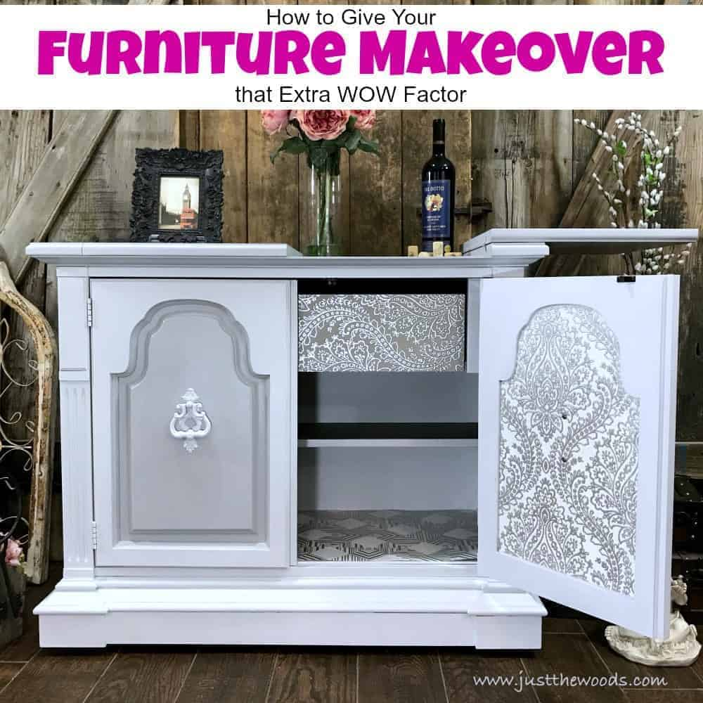 How To Give Your Furniture Makeover That Extra WOW Factor