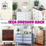 The Best IKEA Dresser Hack Furniture Makeovers