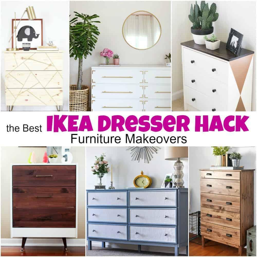 the best ikea dresser hack furniture makeovers. Black Bedroom Furniture Sets. Home Design Ideas