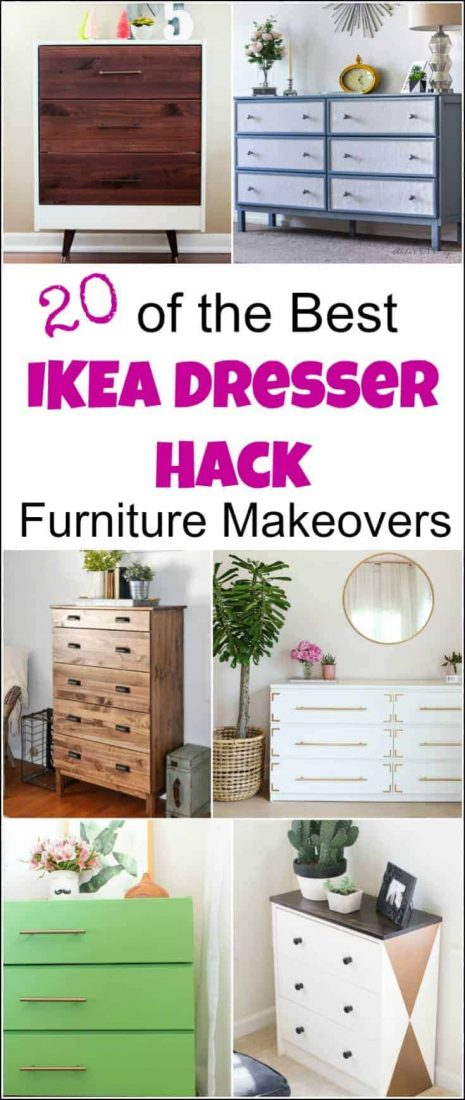 An Ikea Dresser Hack Can Transform A Piece Of Basic Flat Furniture Into So  Much More