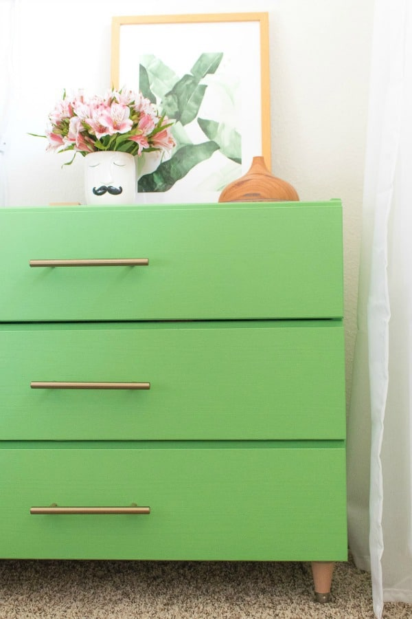 An Ikea dresser hack can transform a piece of basic flat furniture into so much more. Ikea hack ideas, Ikea dresser makeovers, furniture hacks, dresser makeovers, Ikea Malm dresser hack, Ikea hacks dresser, Ikea hemnes dresser hack, Ikea hack dresser, Ikea dresser hacks, Ikea rast dresser hack, Ikea rast hack, Ikea pine dresser, DIY dresser ideas, dresser ideas, painted furniture makeovers, furniture before and after
