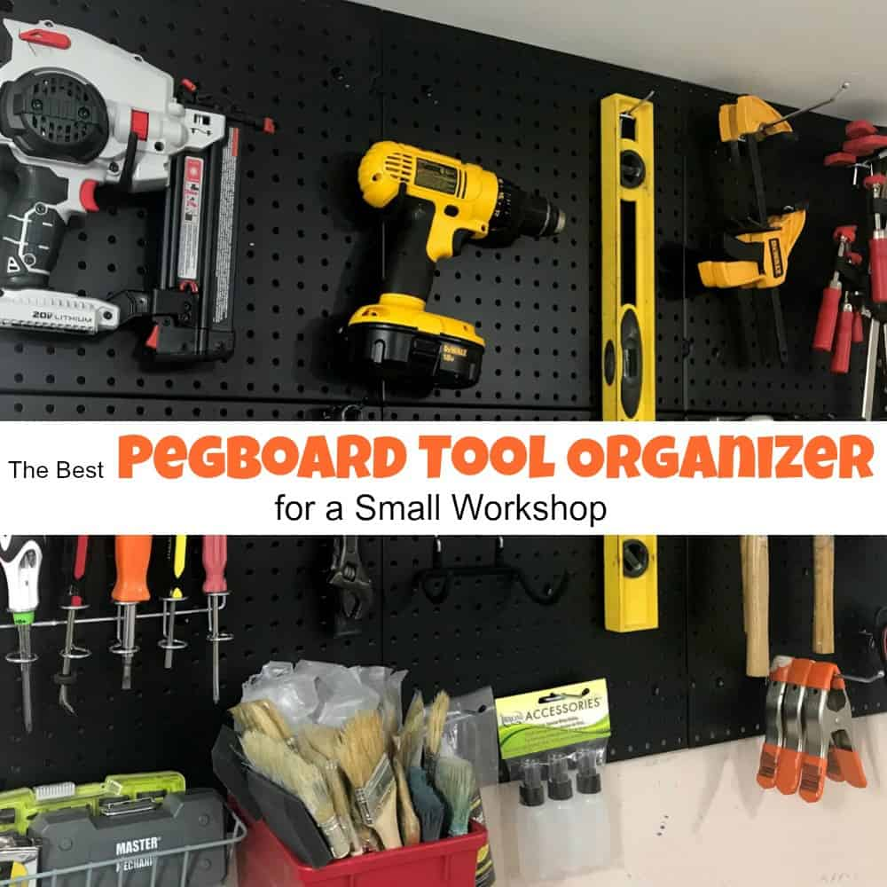 The best pegboard tool organizer for a small workshop publicscrutiny Images