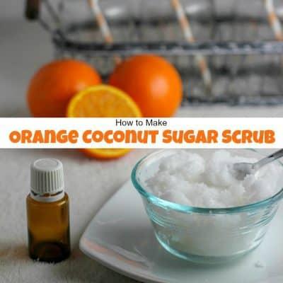 Orange Coconut Sugar Scrub for Silky Smooth Skin