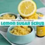 How to Make a Scrumptious Lemon Sugar Scrub
