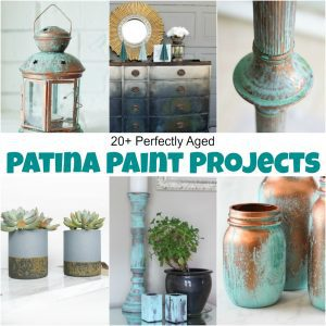 20+ Perfectly Aged Patina Paint Projects You Need to See