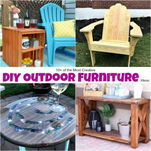 10+ of the Most Creative DIY Outdoor Furniture Ideas