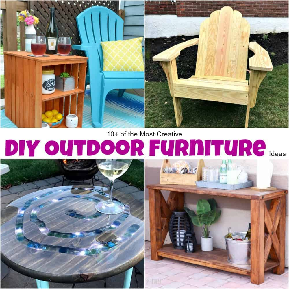 Most Creative Diy Outdoor Furniture Ideas