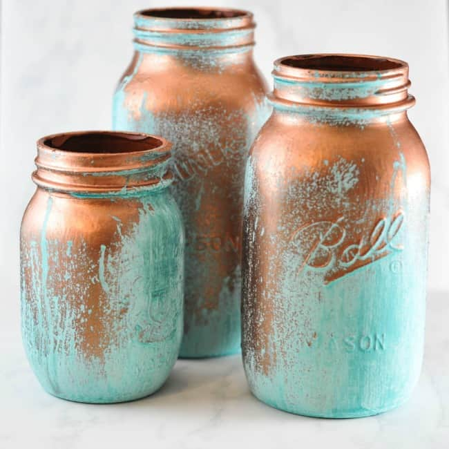 copper patina paint, Patina paint projects are perfect for those who love that aged patina effect. Not everyone loves shiny and new. Some of us are more drawn to old things. Patina paint can be used to age your furniture and create a worn metallic finish. Use a patina paint job on your next DIY creation for a worn aged look. #patinapaint #patinapaintjob #copperpatinapaint