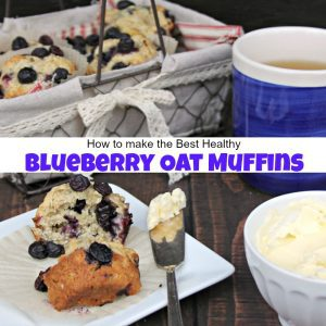 How to Make the Best Healthy Blueberry Oat Muffins