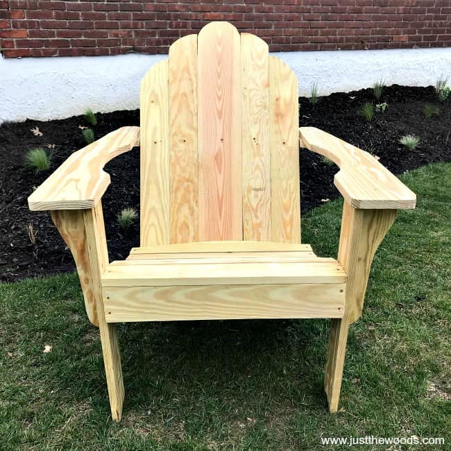 Swell How To Build Adirondack Chairs From Scratch Machost Co Dining Chair Design Ideas Machostcouk