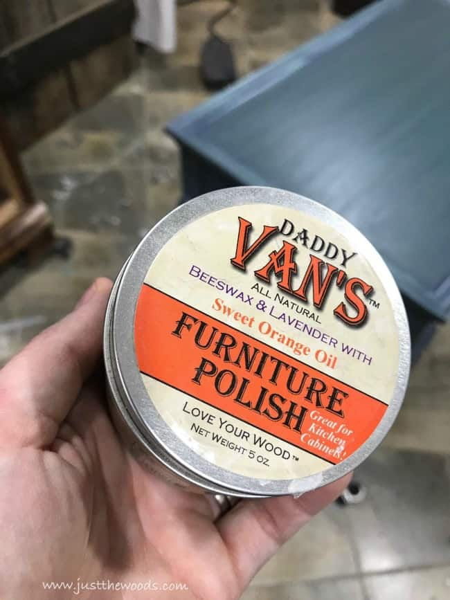 daddy vans, furniture polish, beeswax