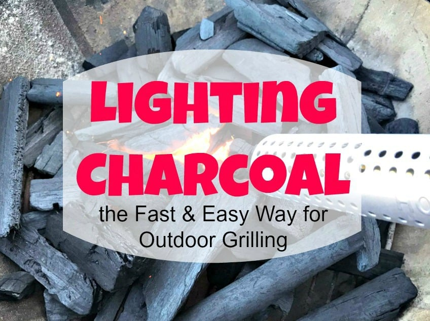 how to light charcoal, lighting charcoal
