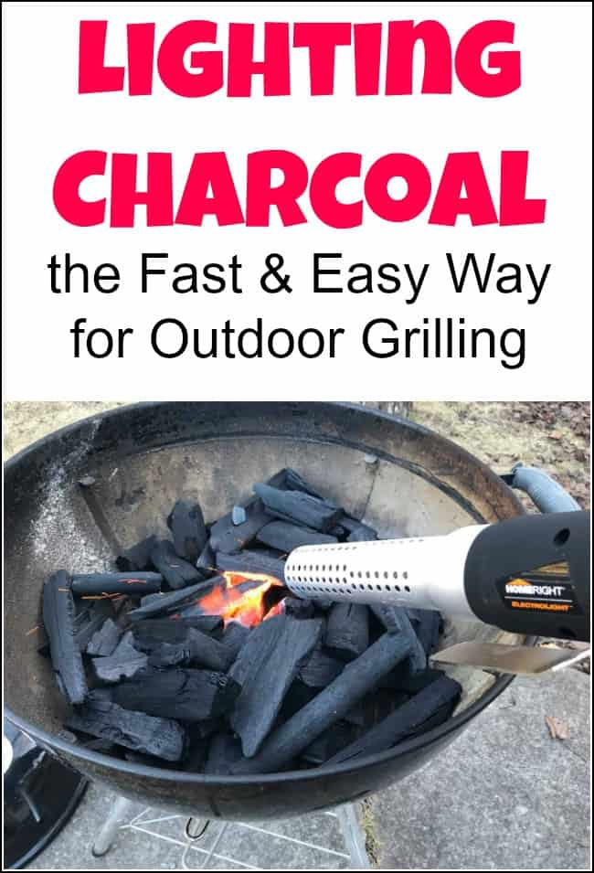 Lighting charcoal can sometimes feel like a chore, especially lighting charcoal without using lighter fluid. But there is something special about grilling over charcoal. So the questionremains on how to you light a charcoal grill? I'm sharing a nifty little tool that has made lighting a charcoal grill a breeze. #lightingcharcoal #howtolightcharcoal