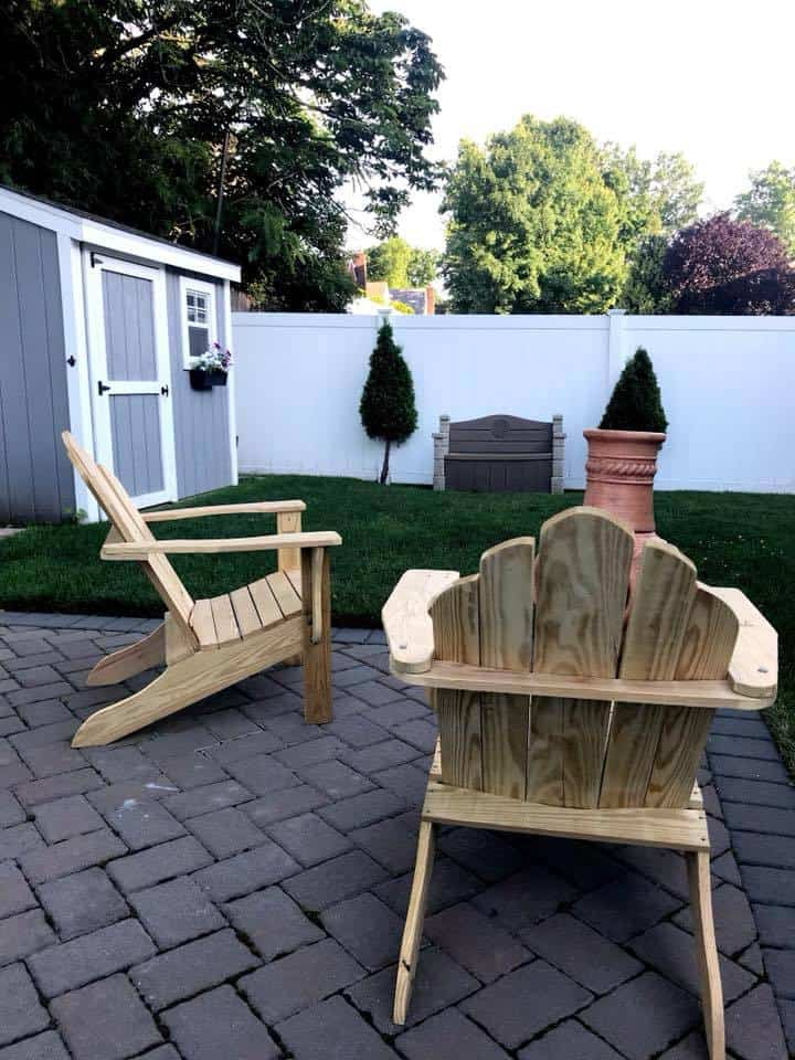 homemade adirondack chairs, build adirondack chairs