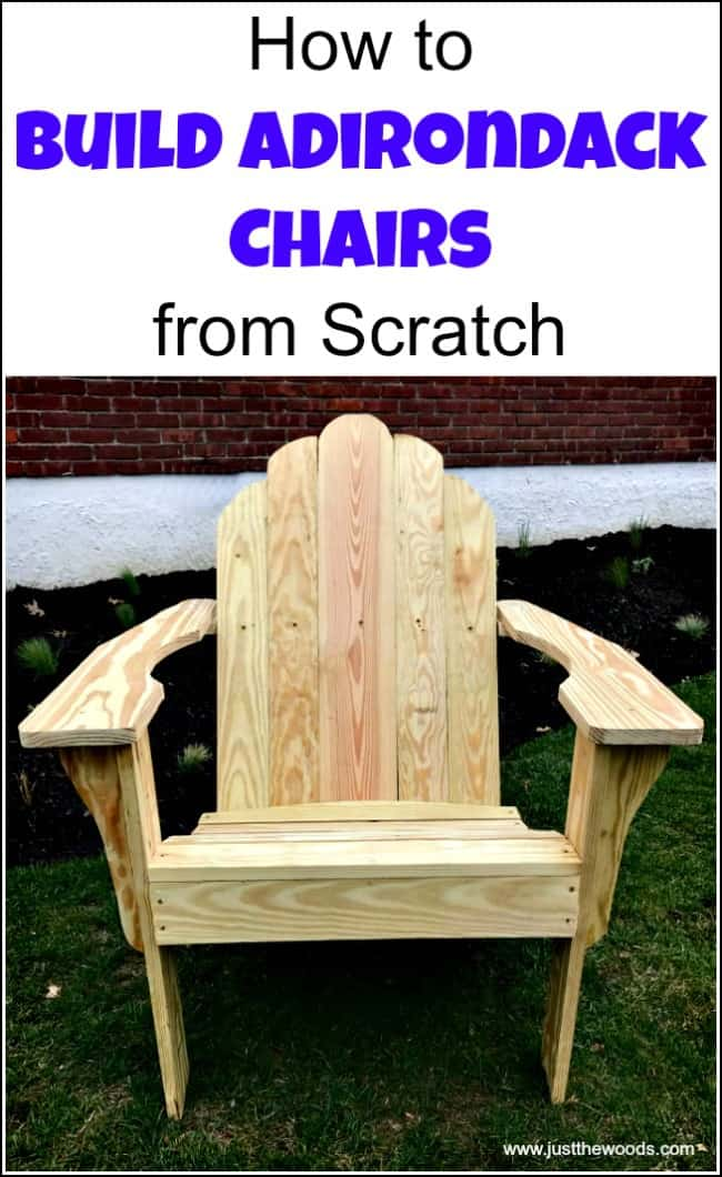 See How To Build Adirondack Chairs From Scratch. Find Free Adirondack Chair  Plans For Making