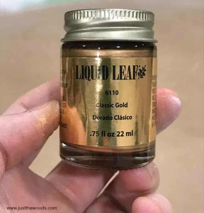 Need Gold Paint? This is the Best Liquid Gold Leaf Ever